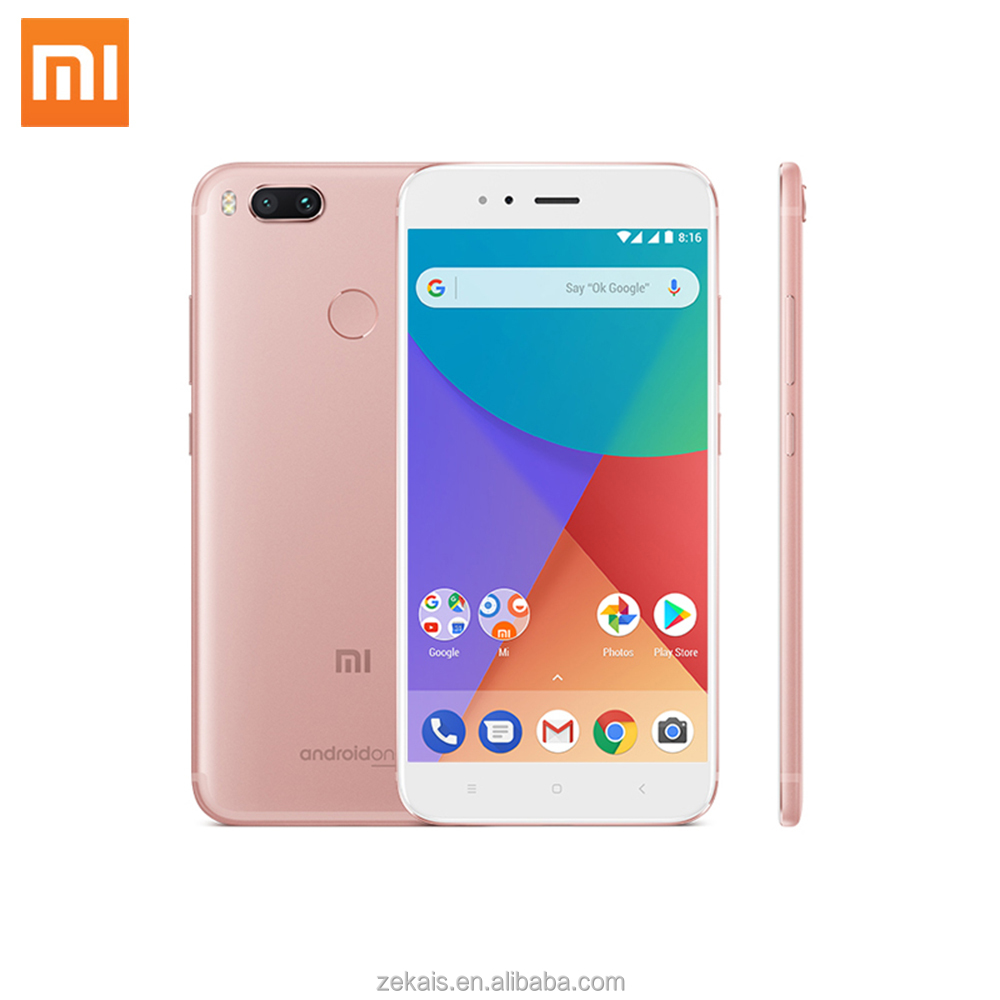 xiaomi A1 ROM 64G CPU Octa Core china brand name shenzhen manufacturers super slim body mobile phone