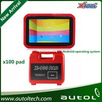 Update via WIFI with PIN Code reading function x100 pad x-100 auto key programmer