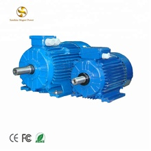 Custom Low RPM speed three phase wind turbine powered hydro turbine power dynamo alternator magnetic generator