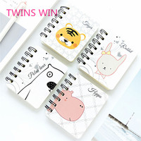 hot new products for 2019 european school supplies stationery sample free children fancy kawaii mini spiral notebooks 1220