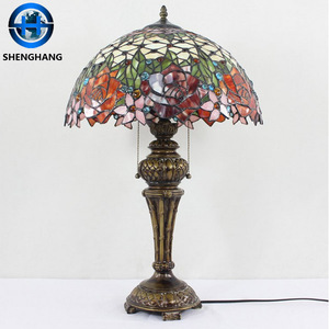 Stained Glass Mosaic lamp new Tiffany Table Lamp wholesale price