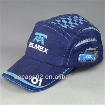 kids fitted sport baseball cap with embroidery logo