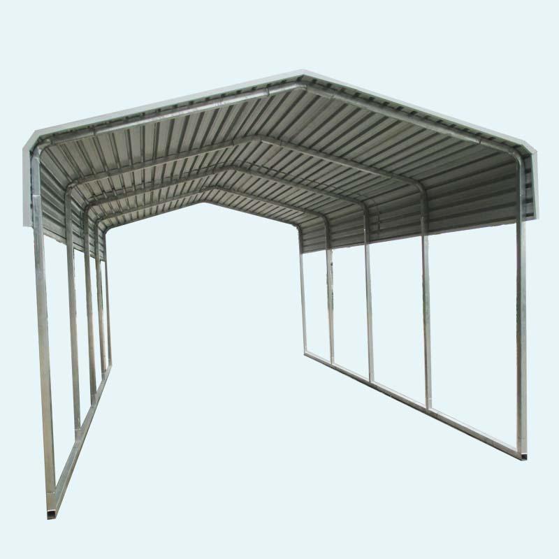 lowes prijs metalen carport carport kits en carport met gebogen dak garages luifels en. Black Bedroom Furniture Sets. Home Design Ideas