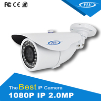 high quality 2mp ip camera adjustable zoom lens bullet ir security camera outdoor