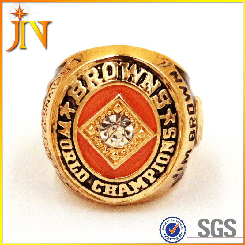 CR0012 JN Jewelry Wholesale 1964 Cleveland Browns Jim Brown Championship Ring Football NFL Ring Replica