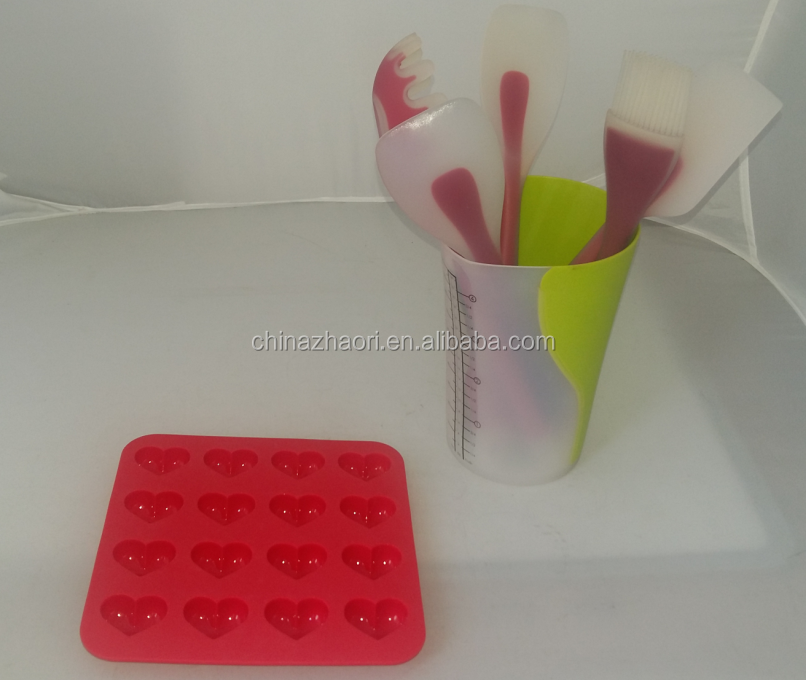 food contact safe silicone baking molds