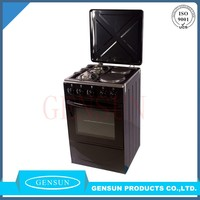 Gensun 20 inch gas oven & electric oven gas stove part name 4 burner gas cooker with toaste oven