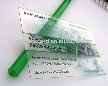 Transparent semi clear frosted plastic business card buy transparent semi clear frosted plastic business card colourmoves