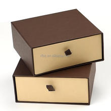 supply coffee belt package box drawer type gift box custom colorful package