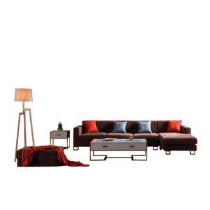 New launch fancy fabric sofa set from CBM mart in China