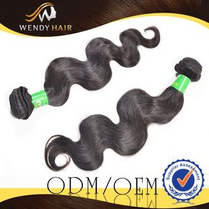 sell crazy micro ring loop with beads brazilian natural body wave hair