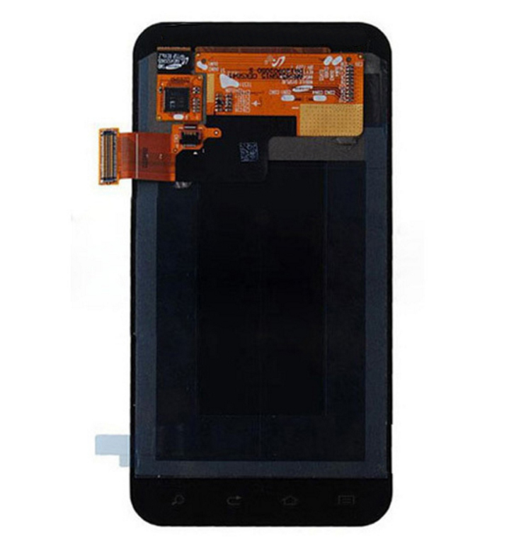 replacement parts for samsung galaxy s2 i9100 lcd screen and digitizer assembly black and white