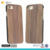 Wood plastic phone case for iphone 7 phone case mobile