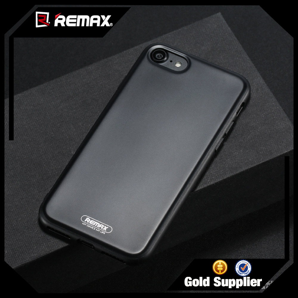 REMAX Black Color IML technology Phone Case for Iphone 7 plus