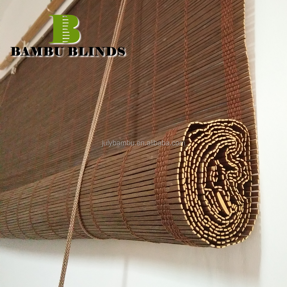 Hangzhou Bamboo Wooden Roller Blinds Outdoor wholesaler