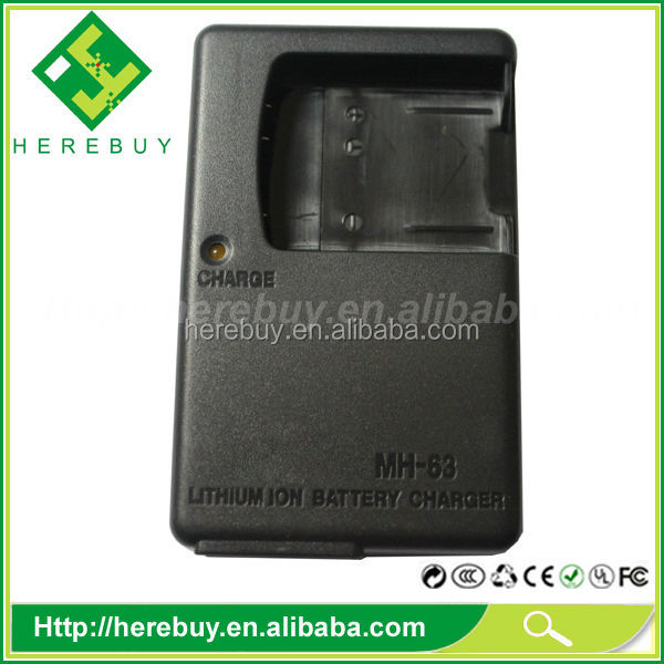 Battery charger manufacturer for Nikon Mh-63 MH63 4.2V 0.55A EN-EL10 ENEL10 EL10 battery charger