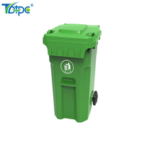 collapsible corrugated plastic recycle bins