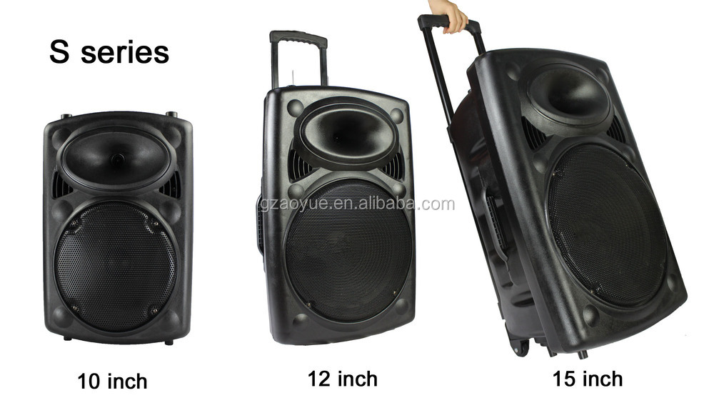 Pa Speaker System Active Speaker With Rechargeable Battery S-15 ...