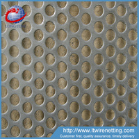 China supplier 1mm stainless steel perforated metal screen sheet