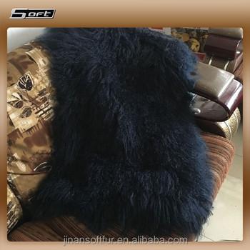 De piel de cordero tibetano de ovejas y cabras manta de - Mantas de piel ...