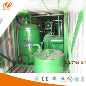 X-Ray Detection Tech. Tire to Oil Machine ,pyrolysis waste tyre for oil