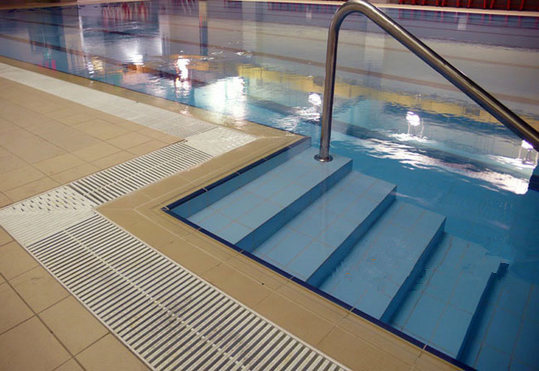 Abs Swimming Pool Overflow Grating Large Floor Grates Pool