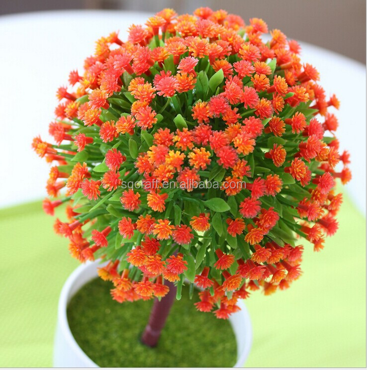 Artificial bonsai Outdoor Gifts Design Simulation Potted Flower Office