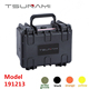 Hard waterproof plastic toolbox with foam
