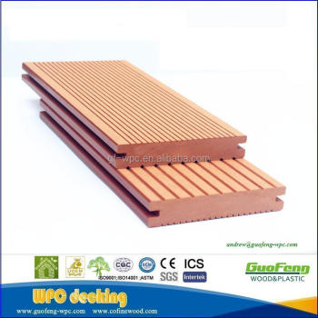 Wood Plastic Tongue And Groove Flooring Outdoor Decking Floor Patio Floors