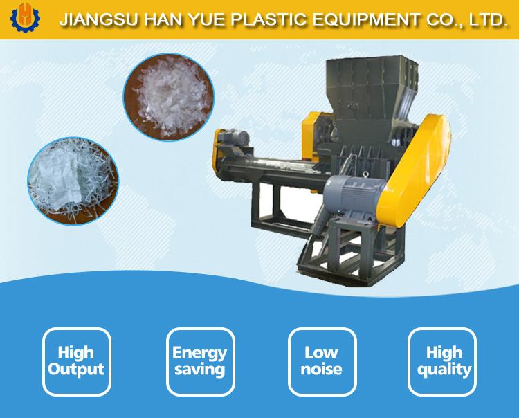 500kgh abfall jumbo/zementsack filme kunststoff recycling maschine mit günstigen preis