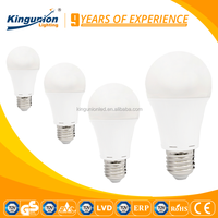 Aluminum housing and pc cover LED 3W 5W 7W e27 day night light sensor led magic bulb