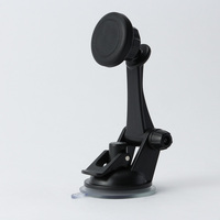 Flexible strong suction magnetic mobile phone car holder wall mount