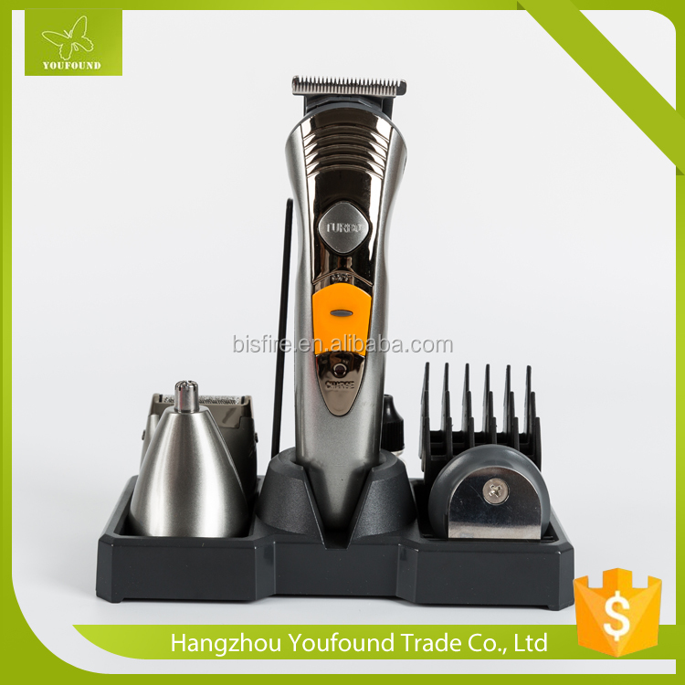 KM-580A NIEUWE Professionele Body Baard Haar Mannen Cut Clipper Scheerapparaat Machine Kit Trimmer Set