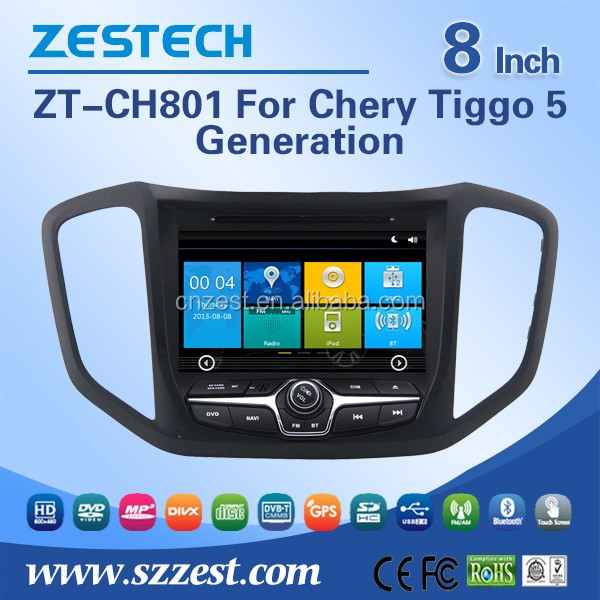 1 din touch screen auto radio gps car dvd for Chery Tiggo 5 2014 2015 2016 car dvd player gps with 3G BT