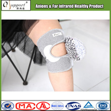China high quality grey knee support sleeves for sale