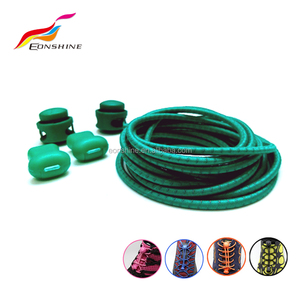 Lazy Colored Elastic Spring Shoe Laces