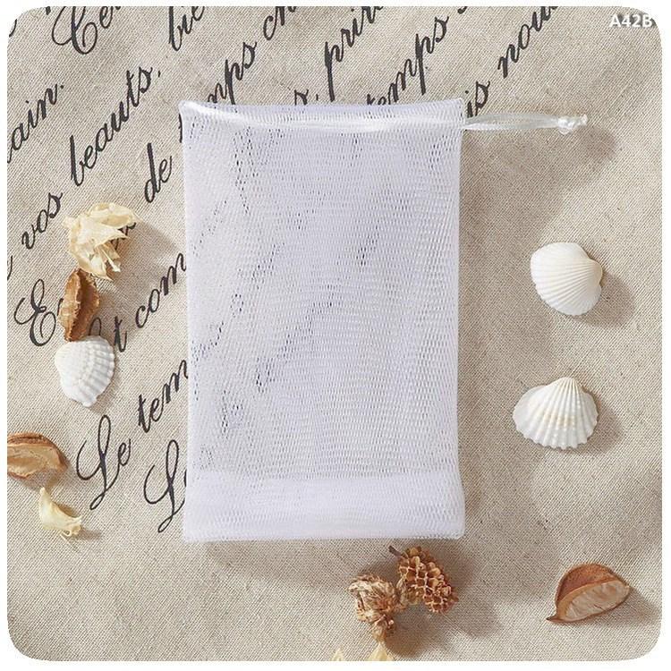 Bathroom Fixtures Systematic 6 Pcs Natural Exfoliating Soap Bags Handmade Sisal Soap Bags Natural Sisal Soap Saver Pouch Holder Bath Soap Holder Bags