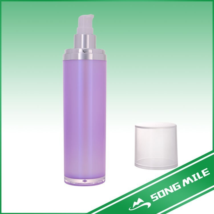 Top grade dual tube and chamber cosmetic packaging bottle