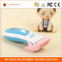 Beautiful design best baby cutting machine DC motor cordless hair clipper/shaving kit for children