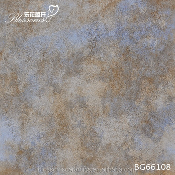 Ceramic Metallic Mixed Changing Blue Color Matt Discontinued Ceramic