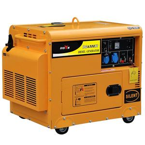 BISON(CHINA) 5kva silent diesel generator price king max power 380v 50hz 9 phase generator