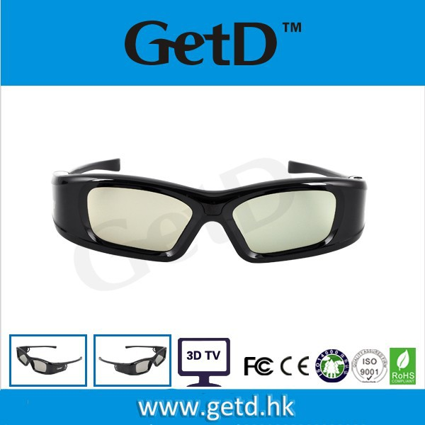 Made in China home theatre use active 3d Shutter Glasses with high quality-GH410IR