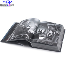 Hardcover Coffee Table Colorful Book Printing Service