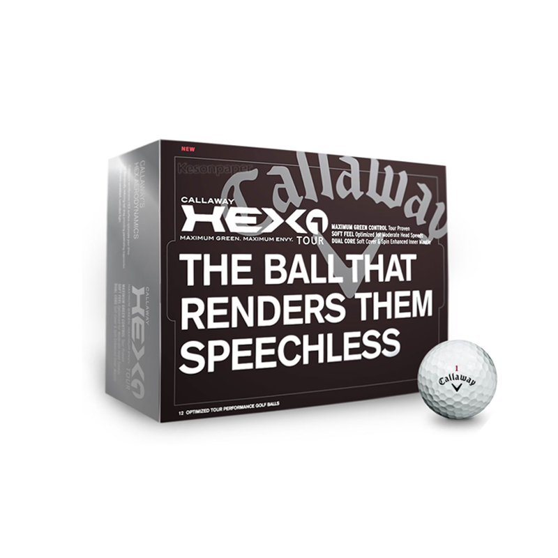 Promotion gift golf ball paper box packaging