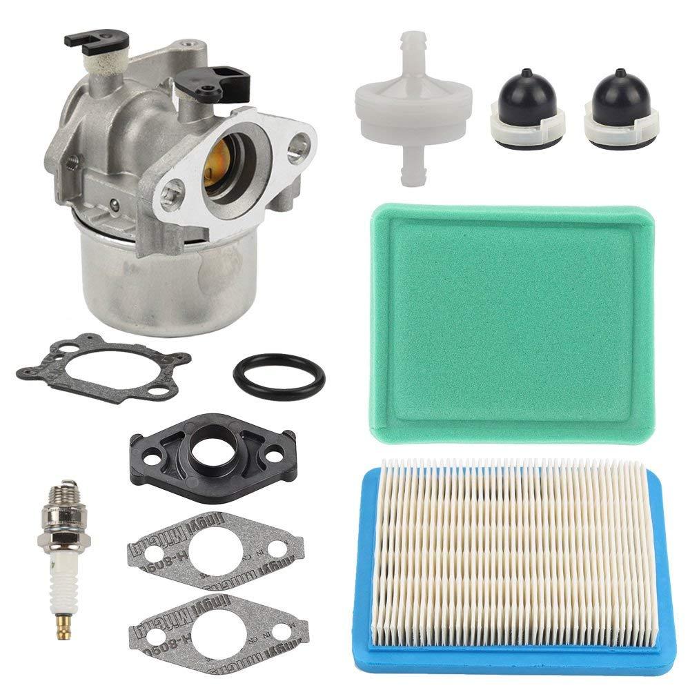 Get Quotations · Hilom MIA11798 Carburetor with Air Fuel Filter for John  Deere JS20 JS25 JS26 JS28 JS30 JS36
