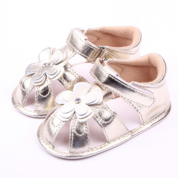 Get Quotations · Baby Kids Girl Princess Shoes Shiny PU Leather Prewalker  Soft Sole Crib Shoes 0-18M cb2c9ac8b880