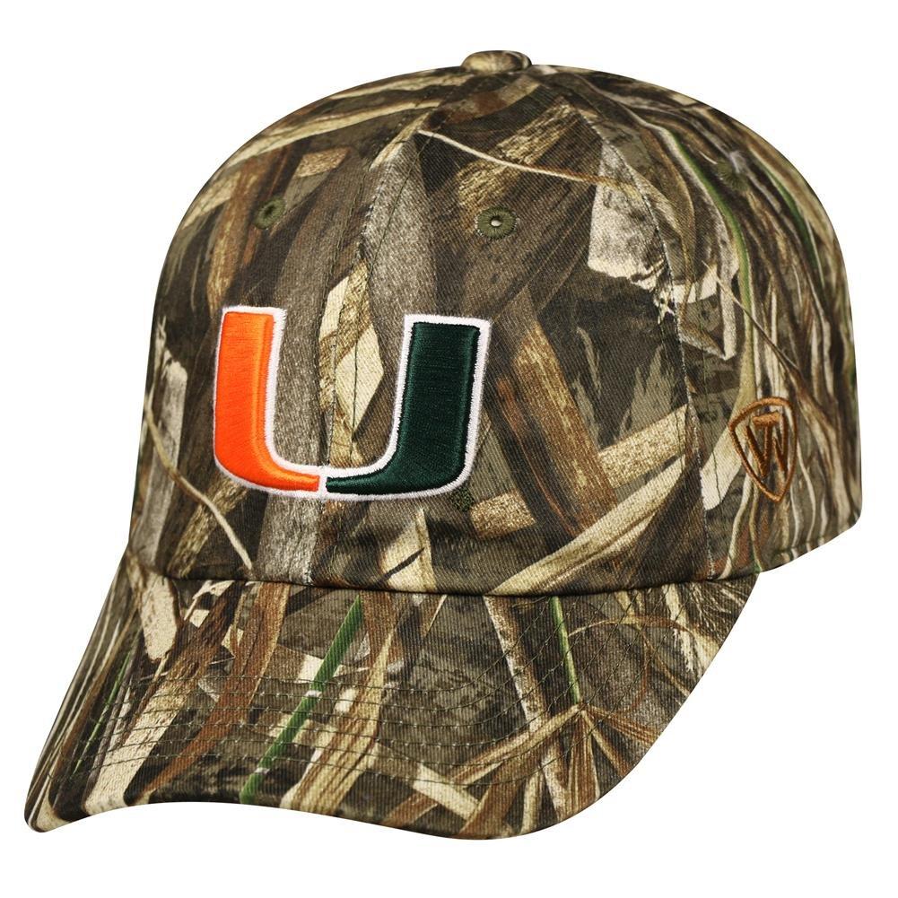 get cheap 01b63 19099 Performance Realtree University of Miami Hurricanes Adjustable Hat