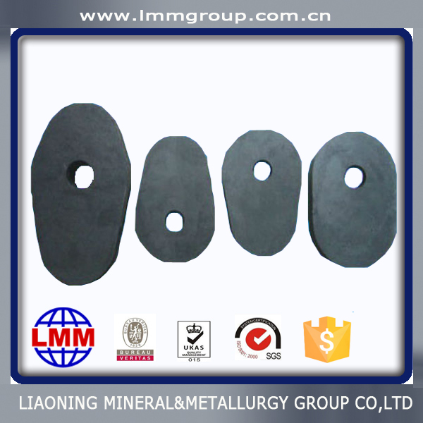 high quality refractory graphite steel ladle slide gate plate