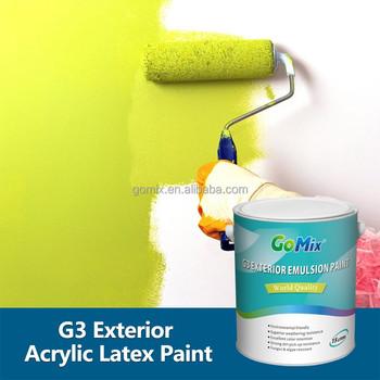 Excelente adhesi n intemperie g3 pintura al aire libre for Color de pintura al aire libre casa moderna