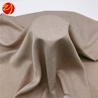 200GSM 100 Polyester Plaid Woven Faux Linen Fabric Sofa Curtain Fabric Wholesale